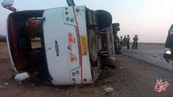 تصادف اتوبوس حامل دانش آموزان تبریزی/ 2 نفر کشته شدند