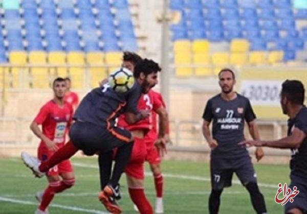 برتری پرسپولیس برابر منصور ساوه/ تیم برانکو باز هم مصدوم داد