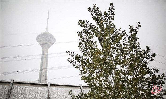 کاهش دمای تهران در روز شنبه